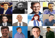Secret SEO MESSAGE from Top Influencers