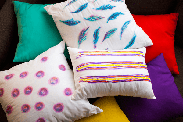 Watercolor Dyed Pillow Covers Home Decor Hacks