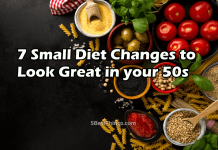 Diet Changes to Look Great in your 50s