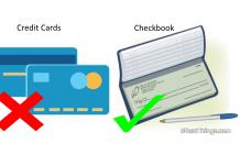 checkbook vs credit card