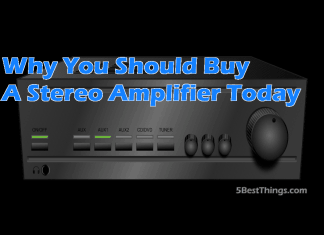 you should buy a stereo amplifier
