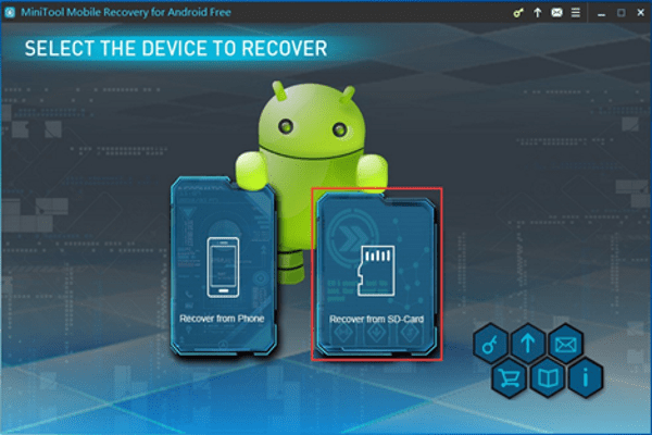 MiniTool Mobile Recovery Android Unrooted