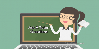 Ask A Tutor Questions
