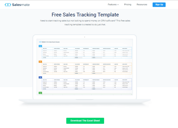Salesmate Advanced sales reports