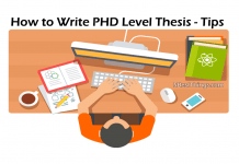 How to Write PHD Level Thesis - Tips