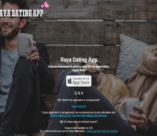 Raya Dating App