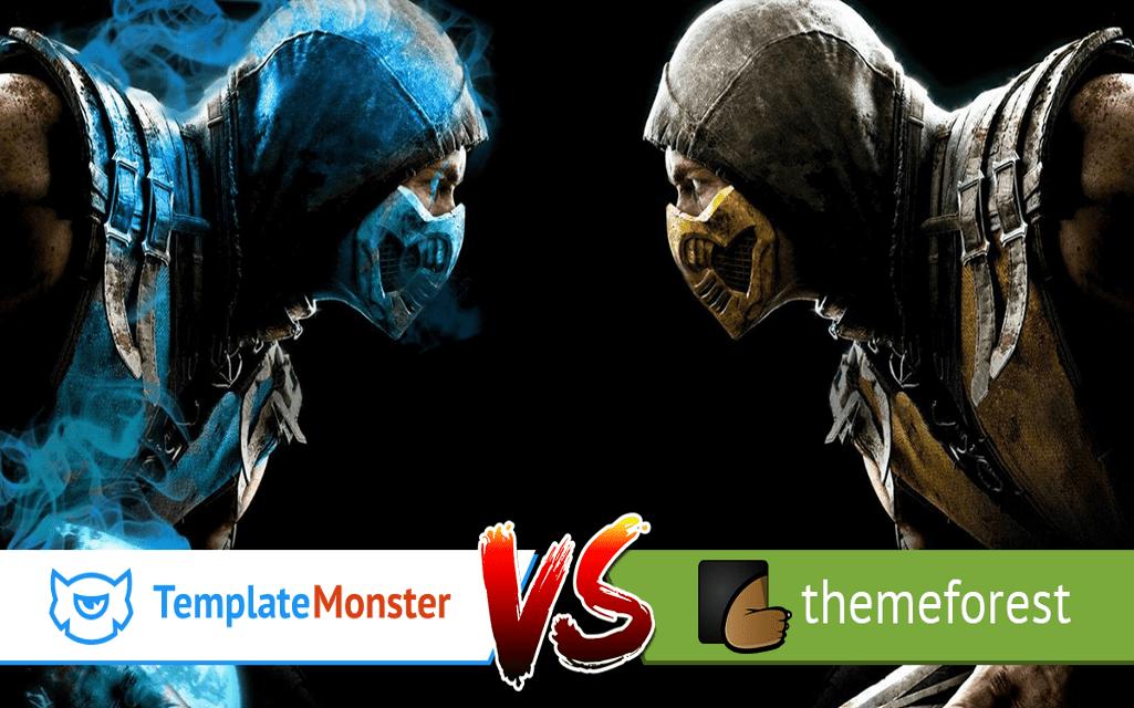 templatemonster vs themeforest