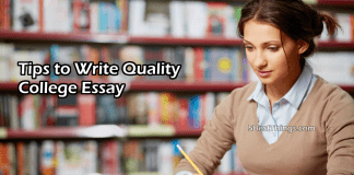 Tips to Write Quality College Essay