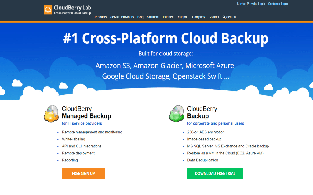 cloudBarry backup Reviews