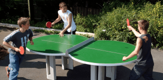 physical benefits of playing table tennis