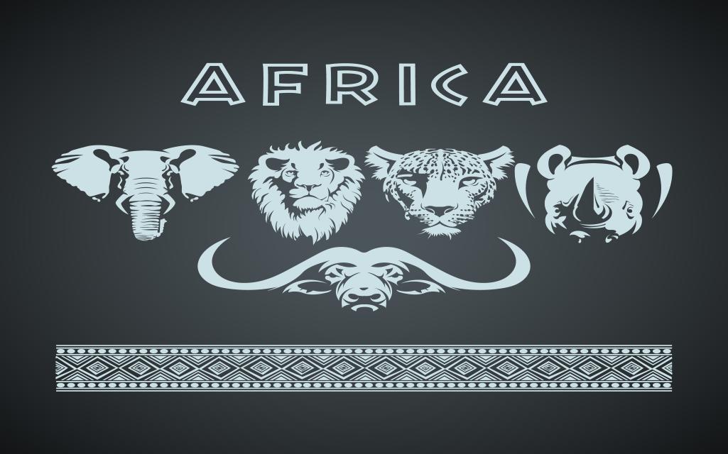 Africa Big Five Animals