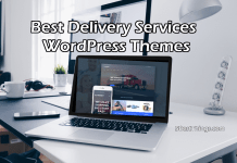 Best Delivery Services WordPress Themes