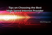 Choosing the Best High Speed Internet Provider