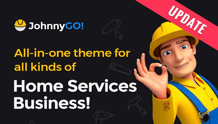 JohnnyGo - Multipurpose Home Services WordPress theme Handyman