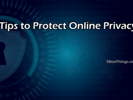 Tips to Protect Online Privacy
