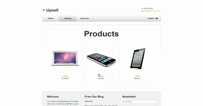 Upsell for Products Shopify App Combinations