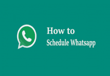 How to schedule WhatsApp messages