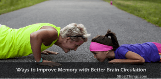 Ways to Improve Memory with Better Brain Circulation