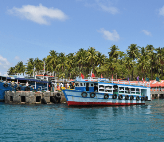 Trying Water Sports in Andaman