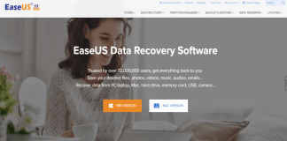 Free EaseUS Data Recovery Software