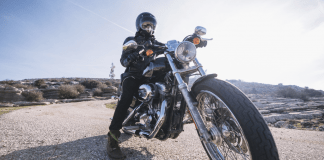 being a motorcycle enthusiast
