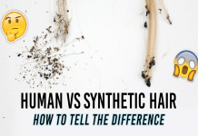Human Hair Extensions Or Synthetic