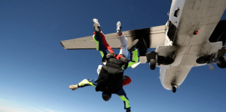Insurance for Skydivers