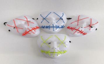 Night Huntsman Mask and More LED